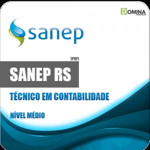 Apostila Sanep Pelotas RS 2020 Técnico em Contabilidade