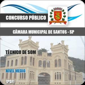 Apostila Concurso Câmara de Santos 2020 Técnico de Som