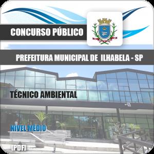 Apostila Concurso Ilhabela SP 2020 Técnico Ambiental