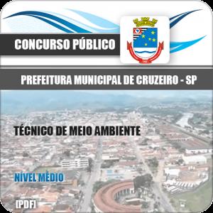 Apostila Pref Cruzeiro SP 2020 Técnico de Meio Ambiente