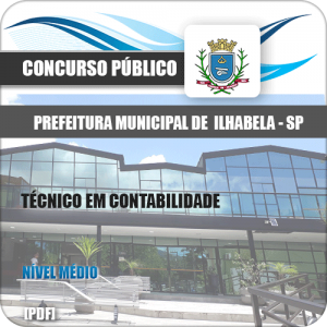 Apostila Pref Ilhabela SP 2020 Técnico em Contabilidade