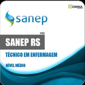 Apostila Sanep Pelotas RS 2020 Técnico em Enfermagem