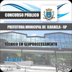 Apostila Ilhabela SP 2020 Técnico em Geoprocessamento