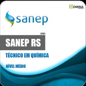 Apostila Sanep Pelotas RS 2020 Técnico em Química