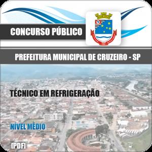 Apostila Pref Cruzeiro SP 2020 Técnico em Refrigeração