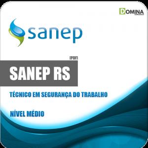 Apostila Sanep RS 2020 Técnico em Segurança do Trabalho
