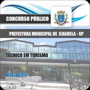 Apostila Pref Ilhabela SP 2020 Técnico em Turismo