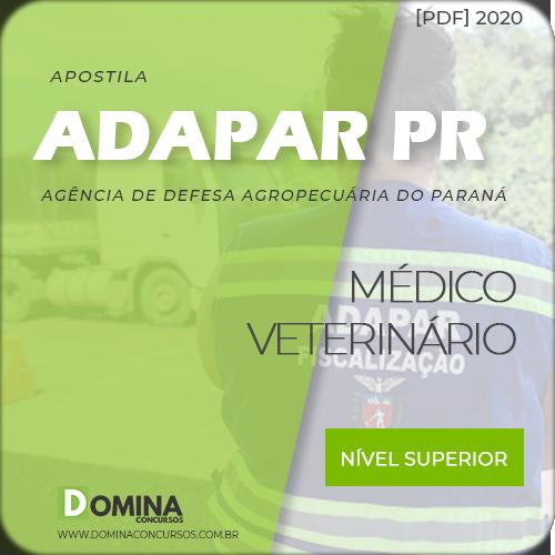 Capa Adapar PR 2020 Médico Veterinário