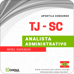 Capa TJ SC 2020 Analista Administrativo