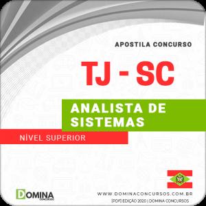 Capa TJ SC 2020 Analista de Sistemas FCC