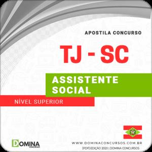Download Apostila Concurso TJ SC 2020 Assistente Social