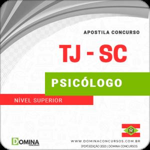Capa TJ SC 2020 Psicólogo Edital FCC