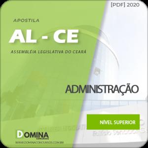 Apostila AL-CE 2020 Analista Legislativo Administração