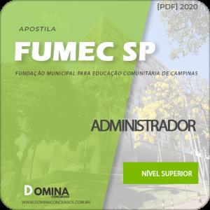Download Apostila Concurso Fumec Campinas SP 2020 Administrador
