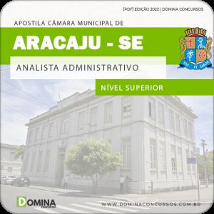 Baixar Apostila Câmara Aracaju SE 2020 Analista Administrativo