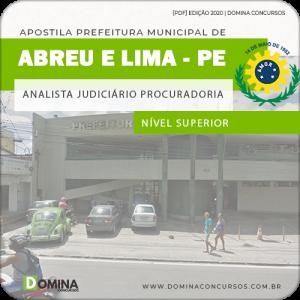 Apostila Abreu e Lima PE 2020 Analista Judiciário Procuradoria