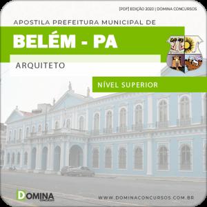 Download Apostila Concurso Prefeitura Belém PA 2020 Arquiteto