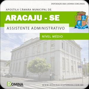 Baixar Apostila Câmara Aracaju SE 2020 Assistente Administrativo
