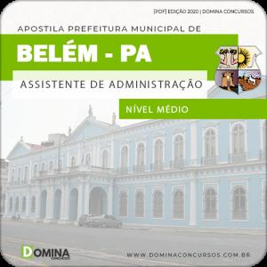 Capa Belém PA 2020 Assistente de Administração