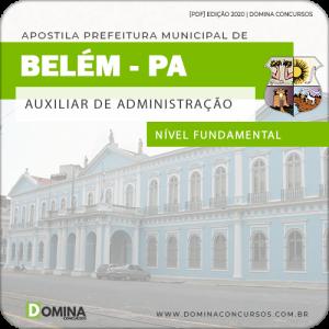 Belém PA 2020 Auxiliar de Administração