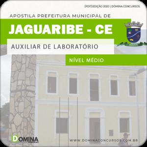 Apostila Pref Jaguaribe CE 2020 Auxiliar de Laboratório