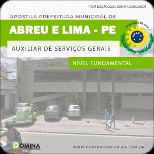 Apostila Pref Abreu e Lima PE 2020 Nível Fundamental