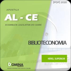 Apostila AL-CE 2020 Analista Legislativo Biblioteconomia
