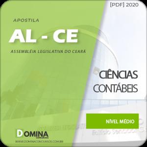 Apostila Concurso AL-CE 2020 Analista Ciências Contábeis