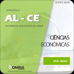 Apostila Concurso AL-CE 2020 Analista Ciências Econômicas