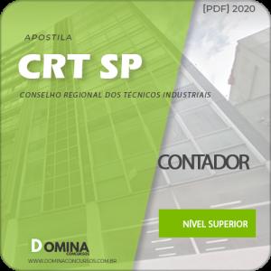 Apostila Concurso CRT-SP 2020 Contador com Provas