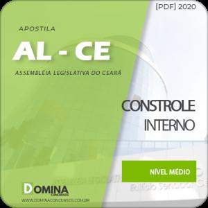 Apostila AL-CE 2020 Analista Legislativo Controle Interno