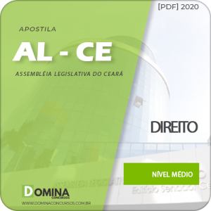 Apostila Concurso AL-CE 2020 Analista Legislativo Direito