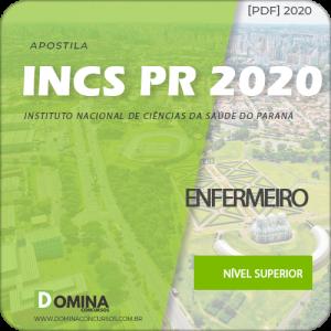Apostila Processo Seletivo INCS PR 2020 Enfermeiro
