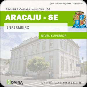 Download Apostila Câmara Aracaju SE 2020 Enfermeiro FGV