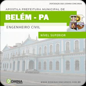 Download Apostila Concurso Pref Belém PA 2020 Engenheiro Civil