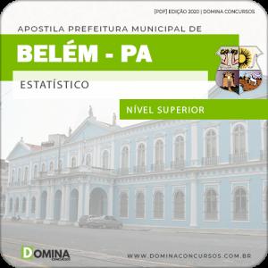 Download Apostila Concurso Prefeitura Belém PA 2020 Estatístico