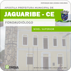Apostila Concurso Pref Jaguaribe CE 2020 Fonoaudiólogo