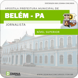 Download Apostila Concurso Pref Belém PA 2020 Jornalista AOCP