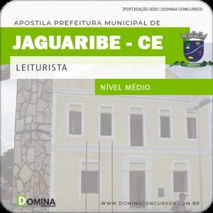 Apostila Prefeitura Jaguaribe CE 2020 Leiturista SAAE