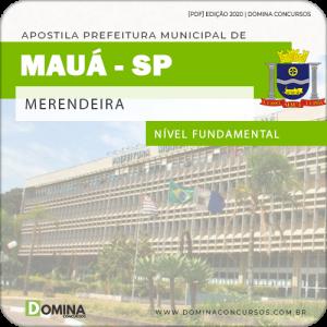 Apostila Concurso Prefeitura Mauá SP 2020 Merendeira