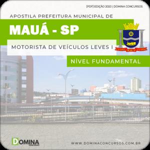 Apostila Pref Mauá SP 2020 Motorista de Veículos Leves