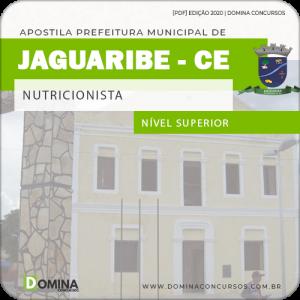 Apostila Concurso Pref Jaguaribe CE 2020 Nutricionista