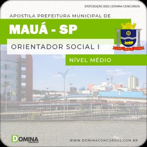 Apostila Concurso Pref Mauá SP 2020 Orientador Social I