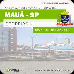 Apostila Concurso Prefeitura Mauá SP 2020 Pedreiro I