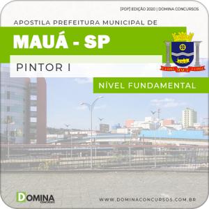 Apostila Concurso Prefeitura Mauá SP 2020 Pintor I