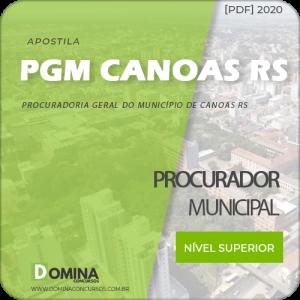 Apostila Concurso Pref Canoas RS 2020 Procurador Municipal