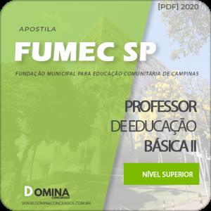 Apostila Fumec Campinas SP 2020 Professor Jovens e Adultos