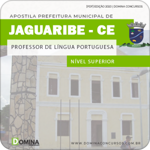 Apostila Jaguaribe CE 2020 Professor de Língua Portuguesa