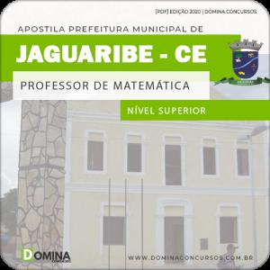 Apostila Pref Jaguaribe CE 2020 Professor de Matemática