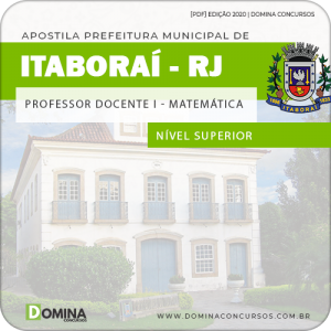 Apostila Pref Itaboraí RJ 2020 Professor de Matemática